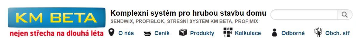 KM Beta a.s., dodavatel stavebních materiálů pro firmu Dřevostavby Juha