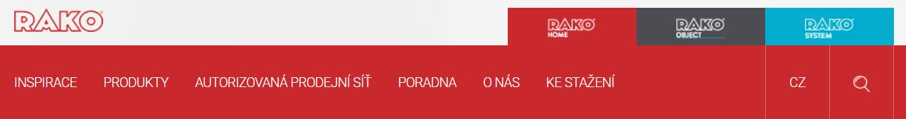 RAKO dodavatel stavebních materiálů pro firmu Dřevostavby Juha