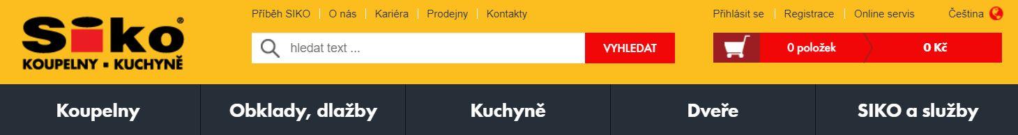 SIKO KOUPELNY a.s. dodavatel stavebních materiálů pro firmu Dřevostavby Juha
