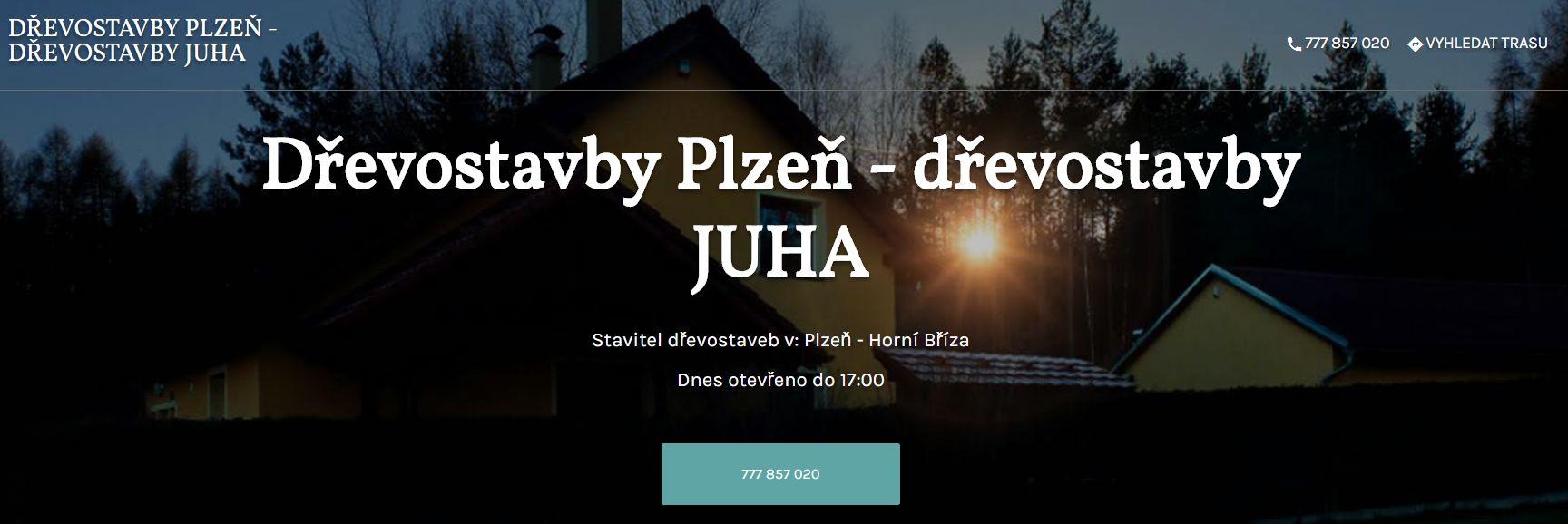 Dřevostavby - výstavba dřevostaveb v Plzni